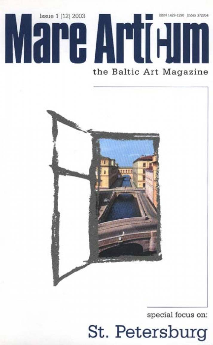 Mare Articum: the Baltic Art Magazine